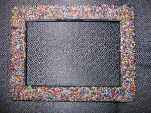 Frame made of Beads - Frame made of beads