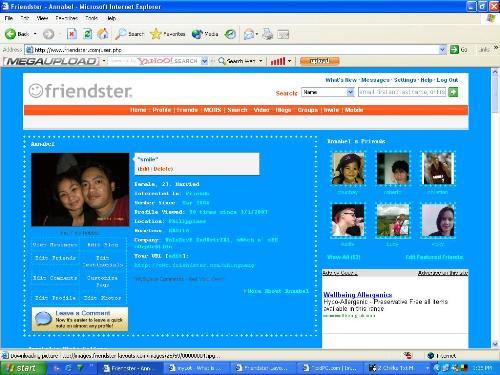 friendster - my friendster