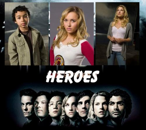 Look at the stars in Heroes. - Heroes is a serial saga about some people in the world discovering that they posses superpowers.