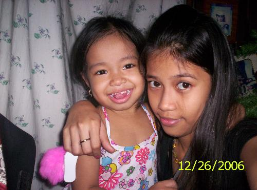 My Daughters - This are my daughters. My eldest and Youngest.