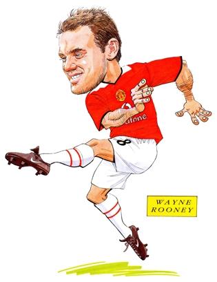 Wayne Rooney - Wayne Rooney in action