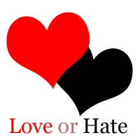 love or hate - the best reason to  hate love