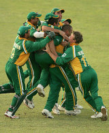 cricket - south Africa