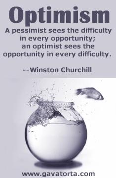 optimist - optimism
