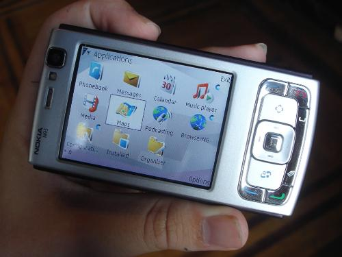 Nokia N95 - Nokia N series 95, the latest brand mobile phone by Nokia.