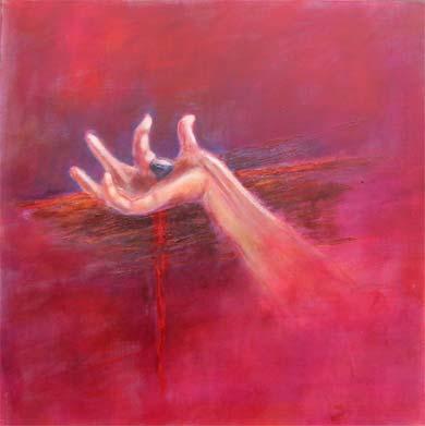 Main de Jesus sur la croix - yep..