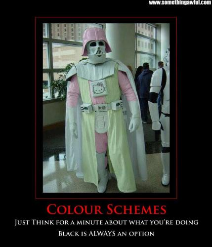 Darth Vadar - Hehe this is just hilarious!!!