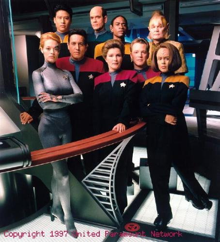 voyager - the crew