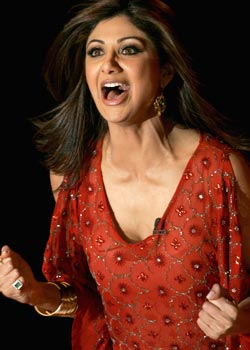 shilpa shetty has won!! - shilpa after winning the big brother show.