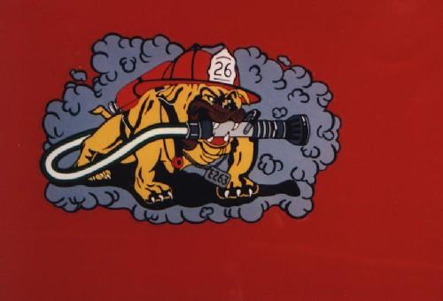 firefighter - A hero dog