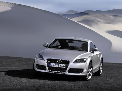 Audi TT Coupe - The all new AUdi TT COupe 2007 model.