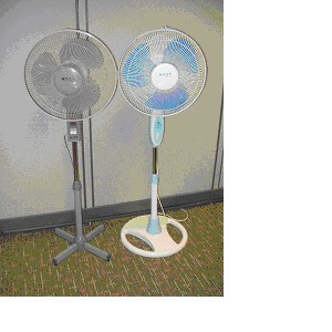 do you own an ELECTRIC FAN? - from what i know, its from tropical countries where houses usually have their own sets of electric fan.  its to prevent humidity inside the house or alike. but in someother areas nor countries.. do you guys own one?