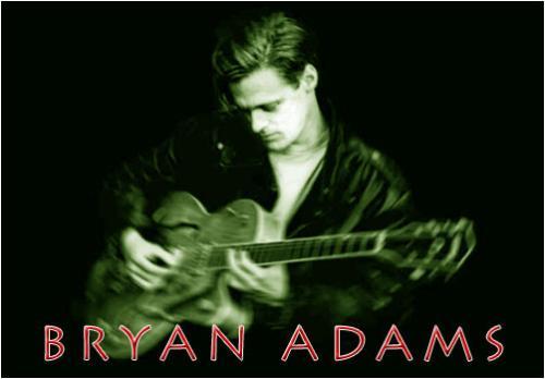 Bryan adams - bryan adams with his guitar