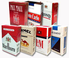A picture of a group of cigarettes.. boxes........ - A picture of a group of cigarettes.. boxes......................................