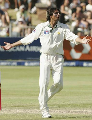 Muhammad Asif - in test series against south africa