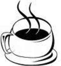 coffee cup - a steaming cuppa coffee