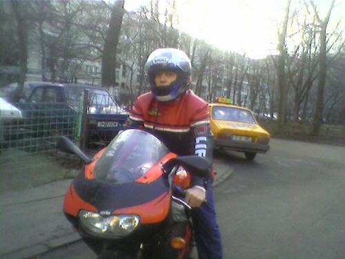 my bike - me on my motorcycle...what do you say about us ?