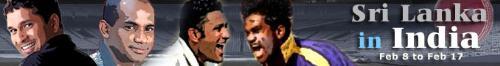 India - Srilanka One day series - India: Rahul Dravid, Sachin Tendulkar, Virender Sehwag, Robin Uthappa, Saurav Ganguly, Dinesh Karthick, Mahendra Singh Dhoni, Anil Kumble, Harbhajan Singh, S Sreesanth, Munaf Patel.  Sri Lanka Mahela Jayawardene, Kumar Sangakkara, Sanath Jayasuriya, Upul Tharanga, Marvan Atapattu, Tillakaratne Dilshan, Russel Arnold, Farveez Maharoof, Lasith Malinga, Malinga Bandara, Nuwan Kulasekera.