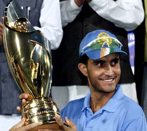 Ganguly - Indian captain