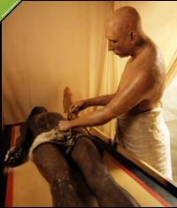 embalmer - is the temporarily preservation of human remains