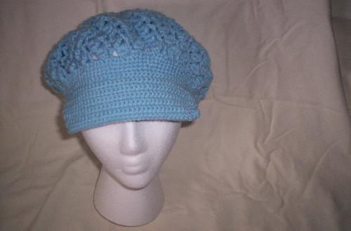 Another crochet hat - My first crochet hat.
