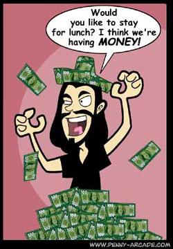 Friend for money - friendship for money
