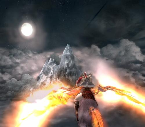 The game of Adventure - One of the picture of God Of War