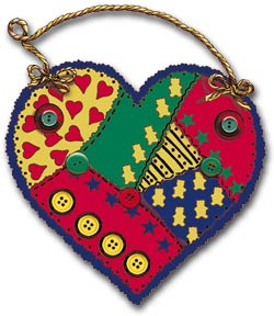 Patchwork Heart - Patchwork Heart to make