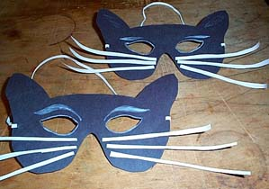cat mask craft - make cat mask craft