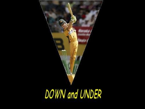 """Hey...never seen australia loosing in a row this  - Now australia is """"Down and Under""""...south africa have casted their place as the No.1 team!!!!"""