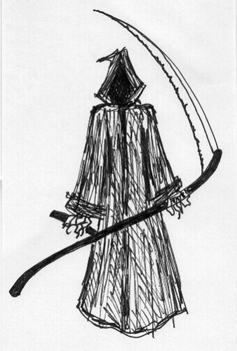grim reaper - personification of death
