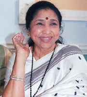 asha - the great indian singer