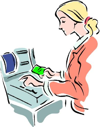 Cashier - A cashier