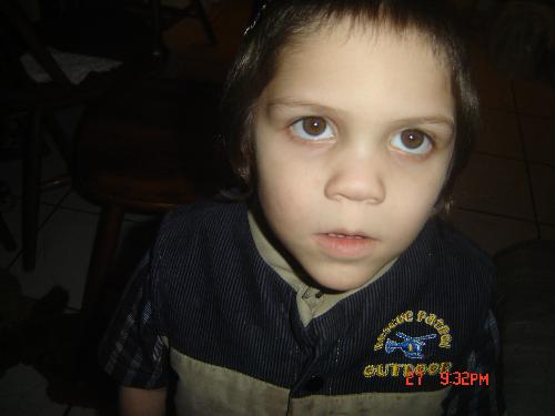 Nate the Little Devil - This is my youngest who is now 4 and was still 4 when he took this picture.