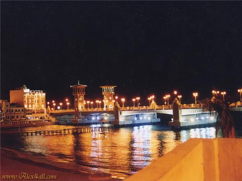 The newest bridge in Alexandria-Egypt - Construction on this bridge started in 2001, I visited Alexandria last summer and I was fascinated with the beautiful details on this bridge, it's design is similar to Elmontazah Palace design.