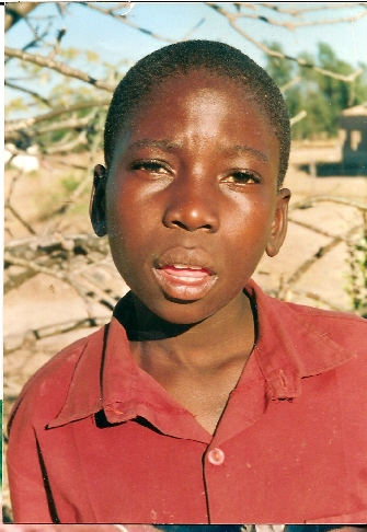 Sponsoring a child - Our boy from another country.