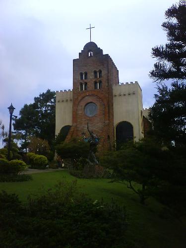 Caleruega Philippines - Caleruega Church Located at Caleruega, Nasugbu, Batangas.