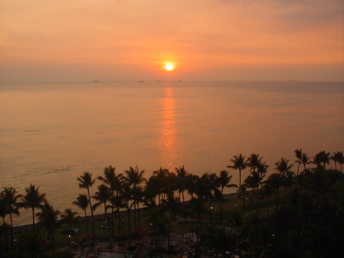 sunset at manila bay - such beauty