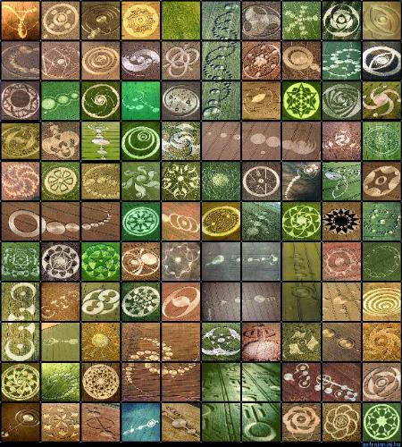 Crop Circles - Were they made by man or beings from another planet?