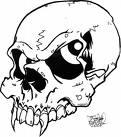 skull - devil
