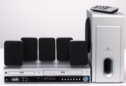 Home Theater - Zenith Home Theater System w/ DVD Player