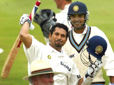 Left and Right hand combinations - Sachin and Ganguly