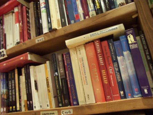 books - lots of books