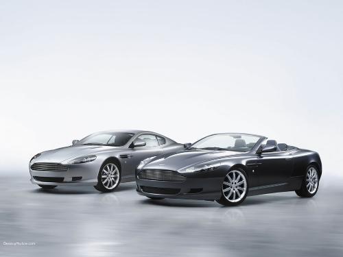 Aston Martin DB9 - Both Editions - Aston Martin DB9 - Convertible and Non-Convertible versions of the DB9.