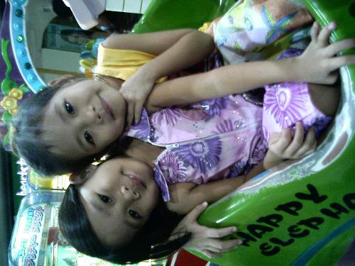 my niece - these are my cute niece..