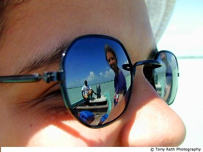 Sunglass - I use sunglass to make others full and to safe my eyes from dust.