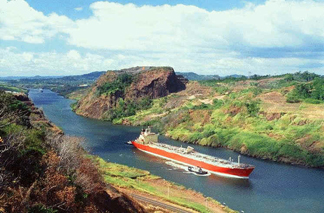 Panama canal- save earth - widening the gap.