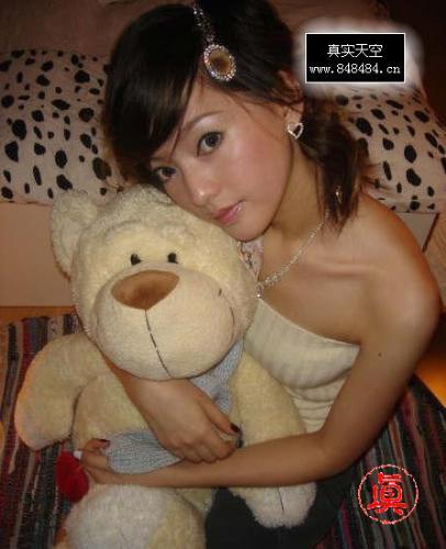Bear bear doll - girl like bear bear doll!!