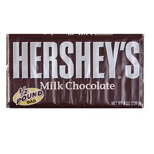 Hershey's Milk Chocolate - Hershey's Milk Chocolate 1/2 pound bar