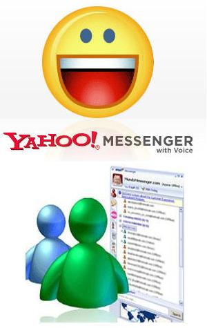 chat messenger programs - These are primary examples of chat programs people commonly use on a daily basis.